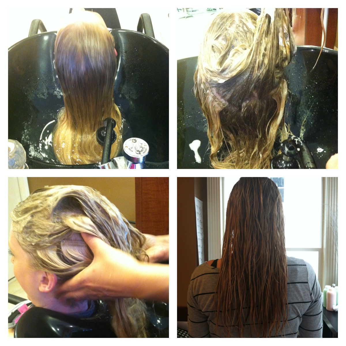 About those hair extensions angelboston how to wash you extensions fusion tape and micro bead step 1 pmusecretfo Images